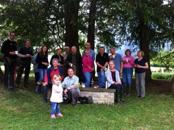 Churchyard Session May 2014