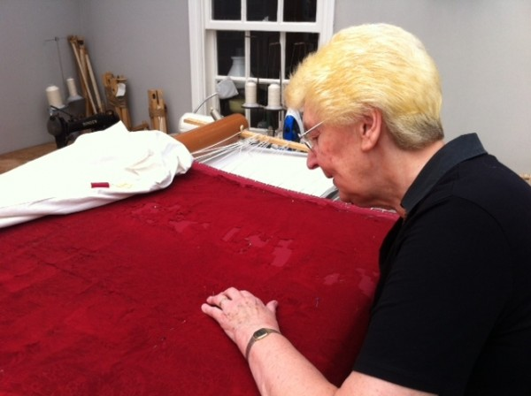 Red Altar frontal repair 2